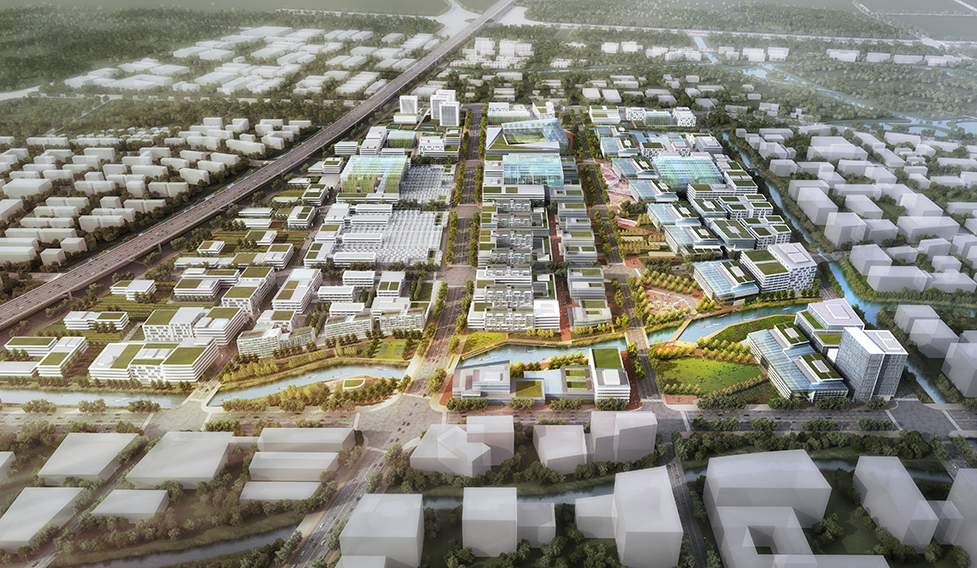 Sunqaio Urban Agricultural District concept