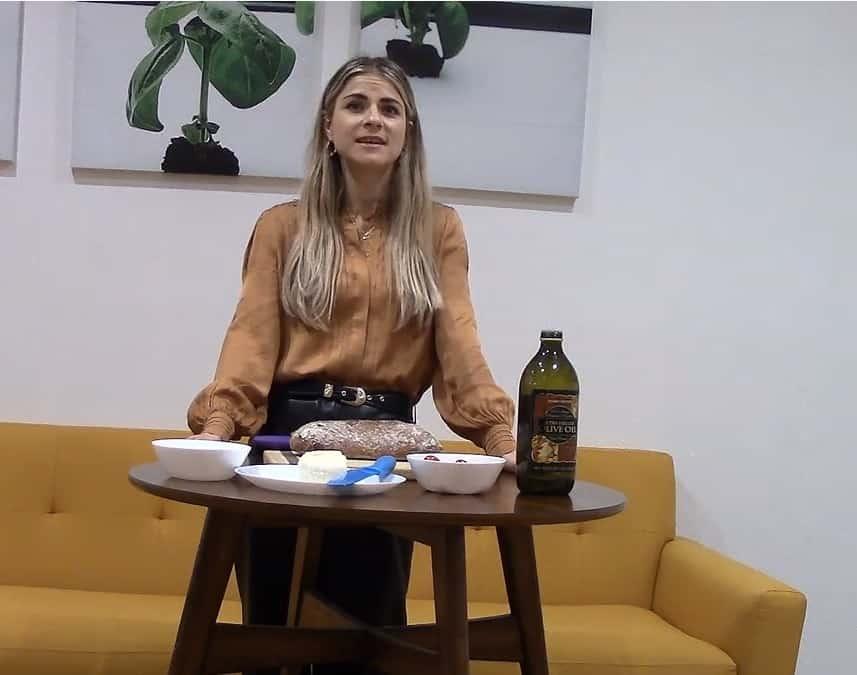 Caprese Bruschetta Recipe! {Video}