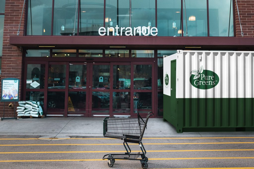 benefits of container farming for grocery stores