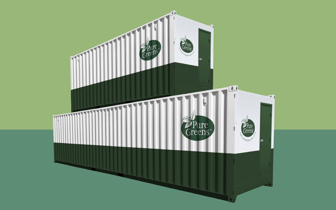 Stackable Hydroponic Containers