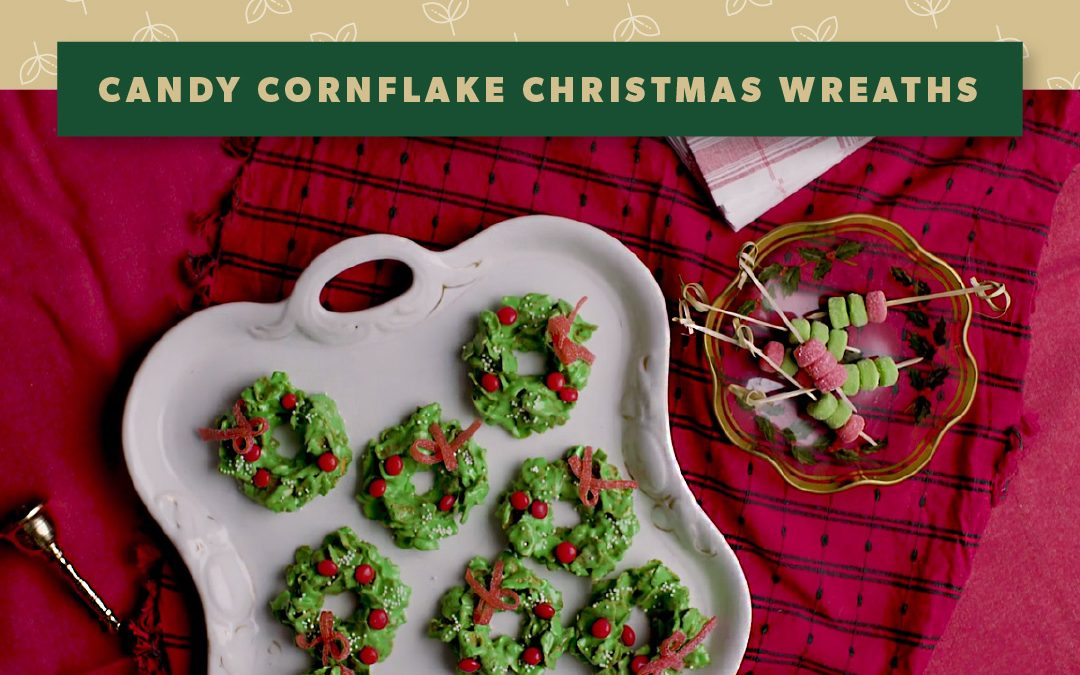 Christmas Recipe: Candy Cornflake Christmas Wreaths