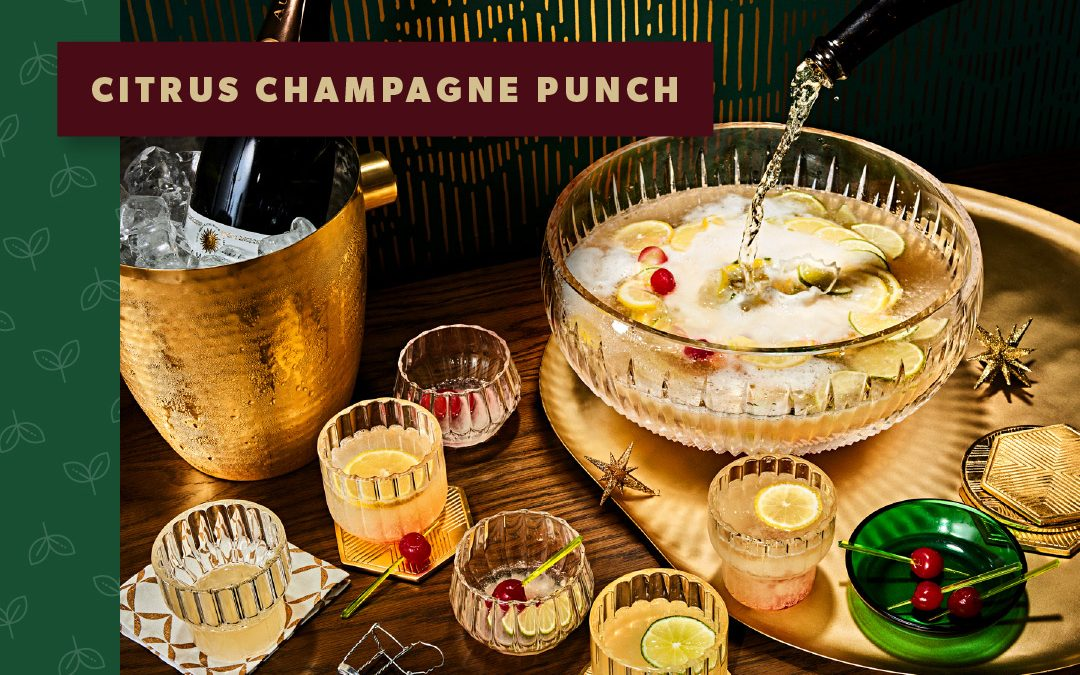 New Year's Eve Recipe: Citrus Champagne Punch